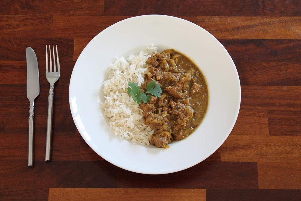 Instant Pot Pork Vindaloo